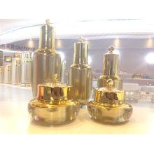 Empaquetado cosmético Lustre nuevo estilo acrílico Loción botella cosmética