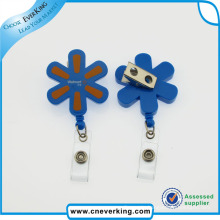 New Design Eco-Friendly Lovely Shape Plastic Badge Reels