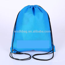 Hot Selling Reusable Wholesale Non Woven Drawstring Backpack Bag Shopping Tote Bag Promotion