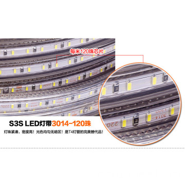 SMD3014 Vattentät flexibel SMD3014 Led Strip ljus Strip