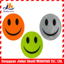Cheapest Smile Reflective Key Chain Reflective Bag Hanger