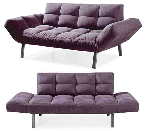 Purple Futon Sofa Bed