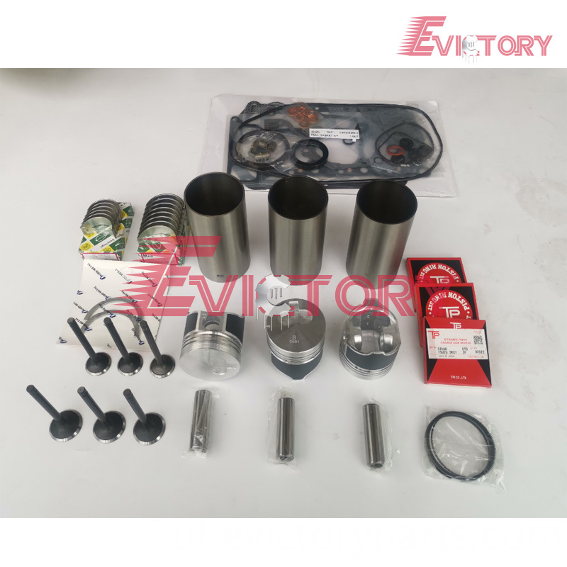 3KC1 rebuild kit + valve