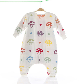 100% Muslin Baby Sleeping Bag/Baby Sleeping Sacks with 6 Layers Gauze