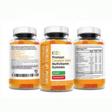 White label vegan multivitamin gummy pectin 50mg hemp seed oil infused 1.5mg melatonin gummies