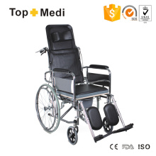 Topmedi Transit Steel Liegestuhl mit Liegewanne aus Kunststoff Plastic