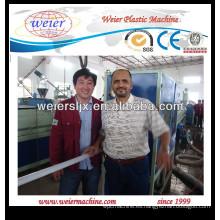 maquinaria de tubería de abastecimiento de agua de plástico PE
