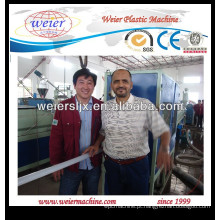 maquinaria plástica de tubulação de abastecimento de água PE