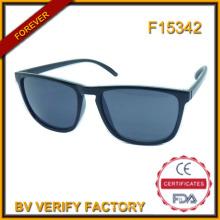 F15342 Бренд дизайнер Зеркало объектива солнцезащитные очки с логотип