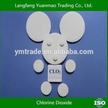 Tablette de dioxyde de chlore pour l'agriculture