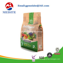 Printed Flat Bottom Bag Square Bottom Bag Block Bottom Bag