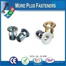 Made in Taiwan Screw Blind Jack Nut Long M8 Copper Steel Stainless jack nut