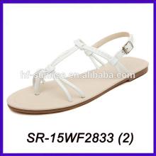 Sandalias de las mujeres del nuevo modelo sandalias de las señoras del precio bajo de las mujeres de las sandalias