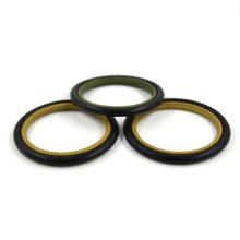 China Manufacture Hydraulic Buffer Rod Seal Rubber PTFE Step Seal GSJ HBTS Seal With High Quality