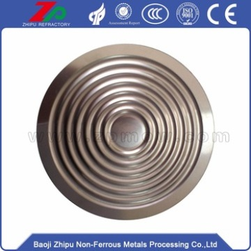 압력을위한 Differential Tantalum Flat Diaphragm