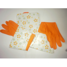 Kitchen Cleaning Glove with Apron Suit