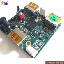 El fabricante de contrato electrónico ofrece servicio llave en mano de PCBA ensamblado tablero de PCB para teléfono móvil