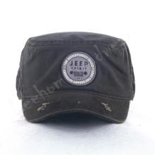Canvas Army Caps avec patch en broderie