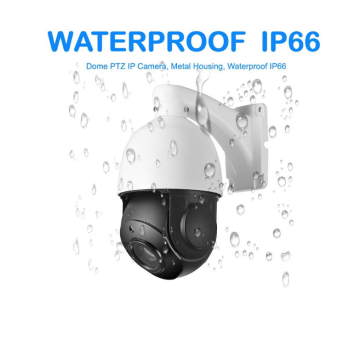 8MP PTZ IP-camera waterdicht