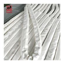 Proveedor de fábrica 8 hilos trenzados de nylon de poliamida cuerda de remolque de amarre marino