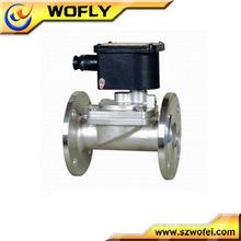 Stainless steel air compressor solenoid valve timer