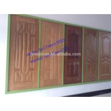 Usine de la peau de porte de placage en bois HDF