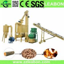 Aserrín de combustible de biomasa Línea de producción de pellets de aserrín de madera