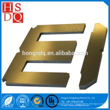 Núcleo de transformador de laminación EI de acero de silicio de carga