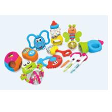 Gute Qualität Kunststoff Baby Hand Rasseln Spielzeug