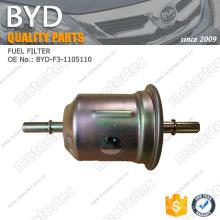 ORIGINAL BYD auto partes filtro de combustible BYD-F3-1105110