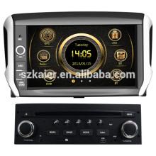 Сенсорный экран вздрагивания автомобиль GPS для Peugeot 208 с GPS и 3G/ДВД/блютус/док/Формат RMVB/РДС