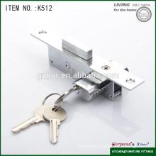 two side moving wooden door lock