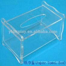 modernes Design Acryl Kosmetiktücher Box Cover-design