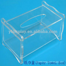 modern design acrylic facial tissue box cover design