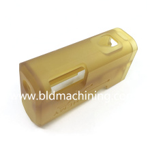Machined Ultem Parts with CNC Logo