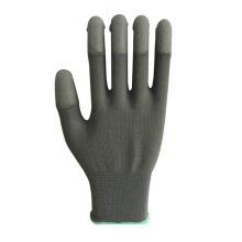 Gant de sécurité en fibre de carbone avec revêtement PU gris