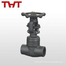 dn100 forged pn16 welded stem hawle gate valve