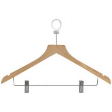Деревянная вешалка для брюк и вешалка