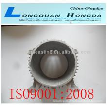 Bombas CNC usinagem peças fundidas, China alumínio Pumpt imeller peças fundidas