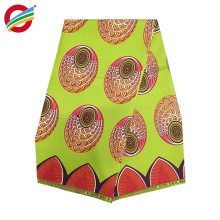 Pure polyester african wax prints woven fabric used for sale