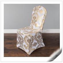 Alta calidad 200gsm diversos estilos Personalizaron las cubiertas de la silla de Lycra para la venta
