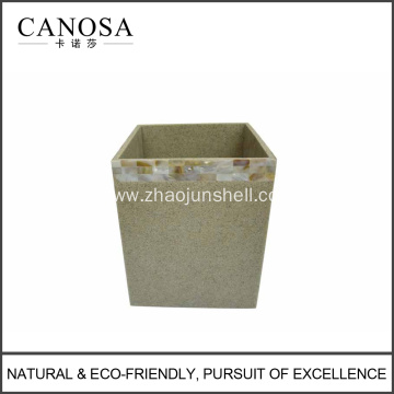 Innotive sandstone waste bin for home and hotel