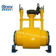 Doulbe Block and Bleed Welded Trounnion Ball Valve (ND6)