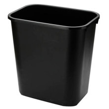 Black Plastic Paper Basket