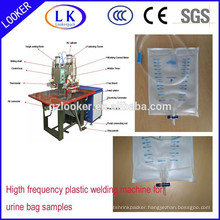 High frequency disposable pvc medical bag welding machine