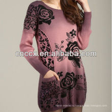 12STC0637 вязания женские шерстяные свитера