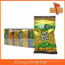 Manfacturer opaque empty vacuum seal tea bags packing