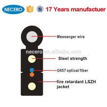 outdoor 1 core fire retardant FTTH Drop Cable /FTTH fibre optic cable