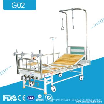 G02 Medical 4-Crank Orthopädische Traktion Rehabilitation Produkte Bett