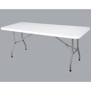 Mesa plegable rectangular de 183 cm
